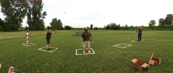 First Trap Shoot
