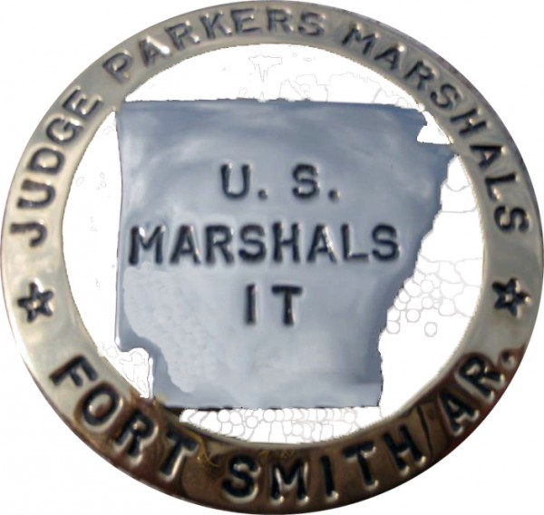 Judge Parkers Marshals Badge